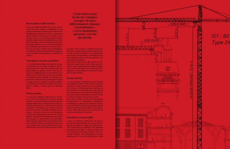 Exemple page contenu livre Le Grand Hotel Dieu de Lyon